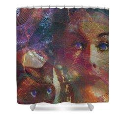 Pyewacket And Gillian Shower Curtain by John Robert Beck