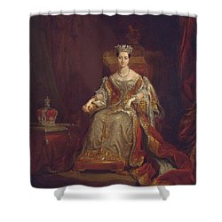 Queen Victoria Shower Curtain by Sir George Hayter