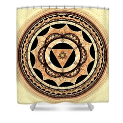 Radiant Affection Shower Curtain by Anastasiya Malakhova
