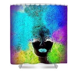Rainbow Beauty Shower Curtain by Ed Weidman