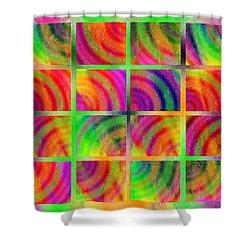 Rainbow Bliss 3 - Over The Rainbow H Shower Curtain by Andee Design