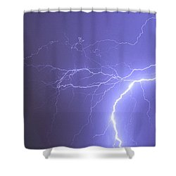 Reaching Out Touching Me Touching You Shower Curtain by James BO  Insogna
