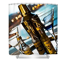 Ready For Drinks Shower Curtain by Sotiris Filippou