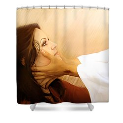 Redeemed Shower Curtain by Jennifer Page