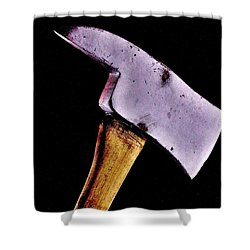 Redrum Shower Curtain by Benjamin Yeager