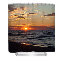 Reflection Shower Curtain by Barbara McMahon