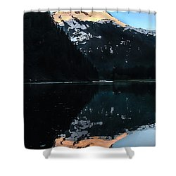 Reflection Shower Curtain by Robert Bales