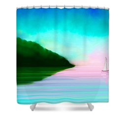 Reflections Shower Curtain by Anita Lewis