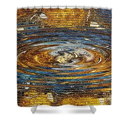 Reflections Of Christmas #4 Shower Curtain by Wayne Cantrell