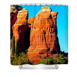 Regular Or Decaf? Shower Curtain by Jon Burch Photography