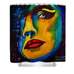 Reign Over Me Shower Curtain by Michael Cross