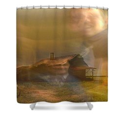 Remember Shower Curtain by Seth Weaver