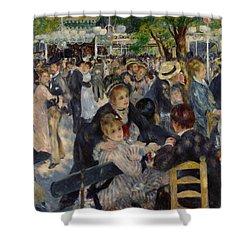 Renoir Moulin De Galette Shower Curtain by Granger