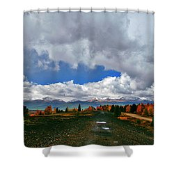 Resisting Change Shower Curtain by Jeremy Rhoades