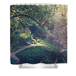 Rest Your Soul Shower Curtain by Laurie Search
