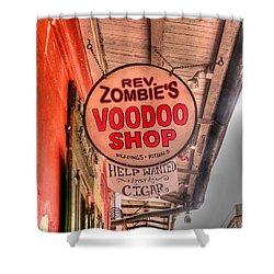 Rev. Zombie's Shower Curtain by David Bearden