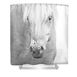 Revelation... Shower Curtain by Nina Stavlund