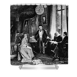 Richard Wagner Shower Curtain by Granger