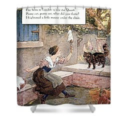 Richardson: Pussy Cat Shower Curtain by Granger