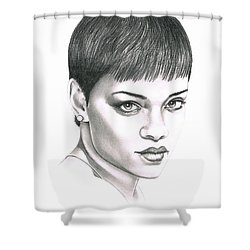 Rihanna Shower Curtain by Murphy Elliott