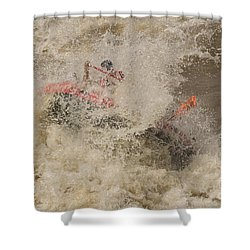 Rio Grande Rafting Shower Curtain by Steven Ralser