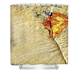 Ripple In Time Shower Curtain by Jason Politte