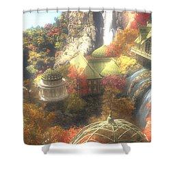 Rivendell Shower Curtain by Cynthia Decker