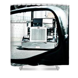 Road Rage Shower Curtain by Aaron Berg