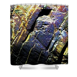 Rock Art 9 Shower Curtain by Bill Caldwell -        ABeautifulSky Photography