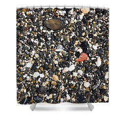 Rocks On The Beach Shower Curtain by Steven Ralser