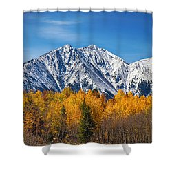 Rocky Mountain Autumn High Shower Curtain by James BO  Insogna
