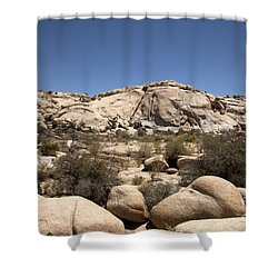 Rolling Shower Curtain by Amanda Barcon