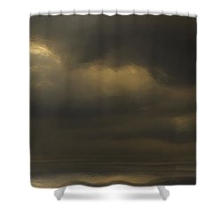 Rolling Sea Shower Curtain by Ron Jones