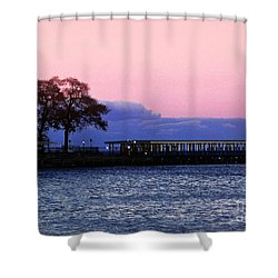 Romantic Seascape  Shower Curtain by Carol F Austin