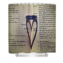 Romeo And Juliet  Shower Curtain by Stelios Kleanthous