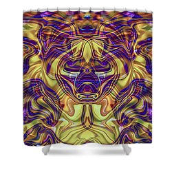 Rooted Shower Curtain by Omaste Witkowski