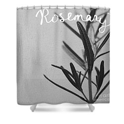 Rosemary Shower Curtain by Linda Woods