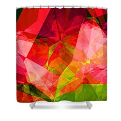 Roses Shower Curtain by Wendy J St Christopher