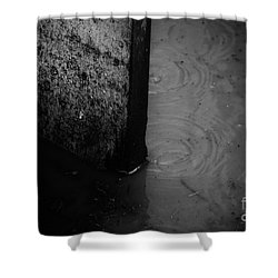 Rough Shower Curtain by Jessica Shelton