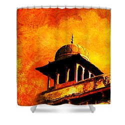 Royal Fort 01 Shower Curtain by Catf