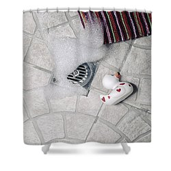 Rubber Duck Shower Curtain by Joana Kruse