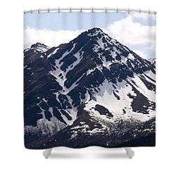 Rugged  Shower Curtain by Tara Lynn