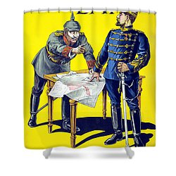 Rumanias Day Shower Curtain by Anonymous