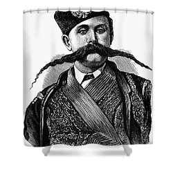 Russia: Military Orderly Shower Curtain by Granger