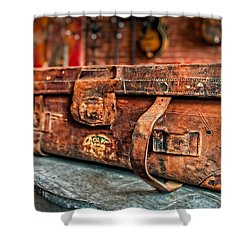 Rustic Trunk Shower Curtain by Brett Engle