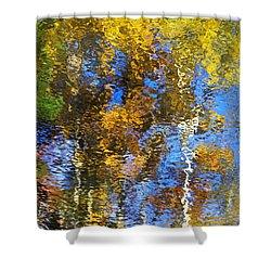 Safari Mosaic Abstract Art Shower Curtain by Christina Rollo
