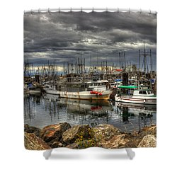 Safe Haven Shower Curtain by Randy Hall