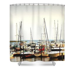 Safe Resting Place Shower Curtain by Reid Callaway