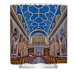 Saint Michaels Church Shower Curtain by Susan Candelario