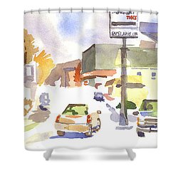 Sam's Service Shower Curtain by Kip DeVore
